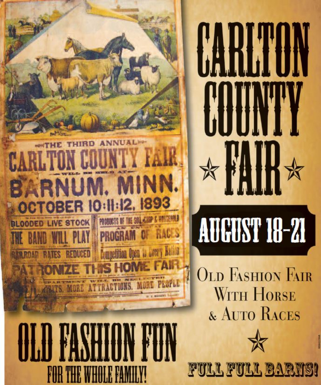 Carlton County Fair - August 18,19,20 & 21, 2016